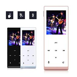 MYMAHDI Music Player, 8GB with Bluetooth MP3 Player Hi-Fi So