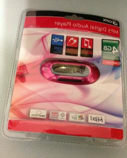 GPX MW151P Pink 4 GB MP3/WMA Player AA Battery Powered NEW S