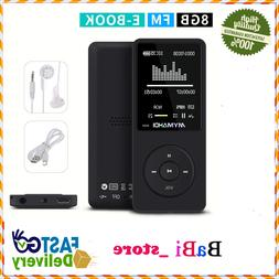 Mymahdi 8 gb Reproductor De Musica Mp3 1H 70 Pantalla De 8 P