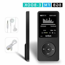 MYMAHDI 8GB MP3 Music Player 1.8 Inch Screen 70h Lossless So