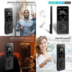 "MYMAHDI 8GB MP3 Music Player 1.8"" Screen 70H Lossless Sound"