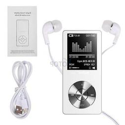 MYMAHDI 8GB Portable MP3 Player, Music Player/ One-key