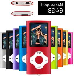 MYMAHDI - Digital, Compact and Portable MP3 / MP4 Player  wi