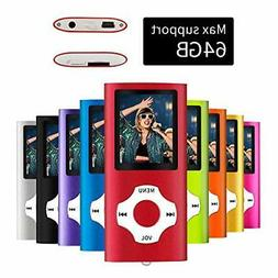 MYMAHDI Digital MP3 MP4 Player Photo Viewer FM Radio Video M