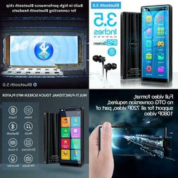Mymahdi Mp3 Player With Bluetooth 5.0, High Resolution And F