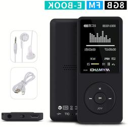 Mymahdi Music Player Screen Lossless Sound, Support Micro Sd