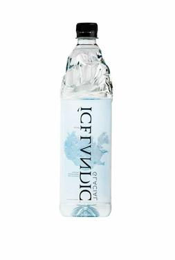 Icelandic Glacial Natural Spring Water, 1 Liter, 6 Count