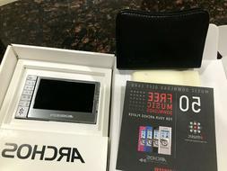 NEW Archos 504 Silver 80GB Digital Media Player DVR Portable