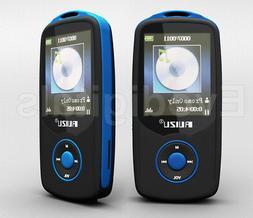 NEW BLUE RUIZU 20GB BLUETOOTH SPORTS LOSSLESS MP3 MP4 PLAYER