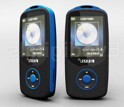 NEW BLUE RUIZU 4GB BLUETOOTH SPORTS LOSSLESS MP3 MP4 PLAYER