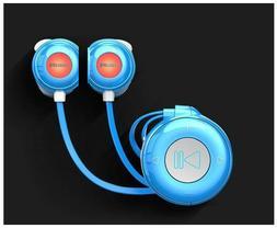 new blue Philips 8GB mini clip top sport running mp3 player