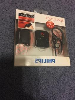 New Philips Go Gear Raga Mp3 Player 2GB Sport Pack GoGear Br