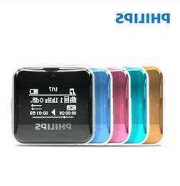 New Philips MP3 Player SA2208 Digital Player 8G Clip HIFI au