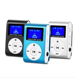 New MP3 Player Supports 32GB LCD Screen Music Media With Cli