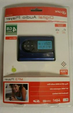 NEW GPX MW259b Digital Audio MP3 Player 4GB SEALED Blue Purp