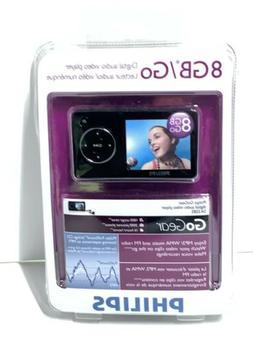 Philips NIB 8gb Go Gear MP3 Digital Audio Video Player FM Ra