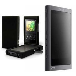 Sony NW-A45/B 16GB Walkman with Hi-Res Audio  with Case Bund