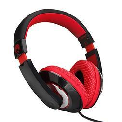 RockPapa Over Ear Stereo Headphones Earphones for Adults Kid