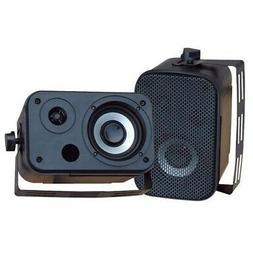 Pyle PDWR30B 3.5'' Indoor/Outdoor Waterproof Speakers