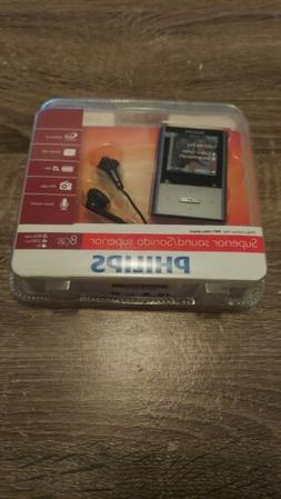 Philips GoGear Vibe 8 GB MP3 Video Player with 1.5-Inch Colo