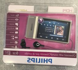 Phillips SA2MUS08S/17 8 GB TOUCH SCREEN DIGITAL MP3 VIDEO PL