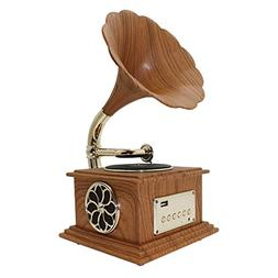 Phonograph gramophone Bluetooth 4.2 <font><b>Record</b></fon