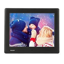 TENKER PF0070 HD Digital Photo Frame IPS LCD Screen with Aut