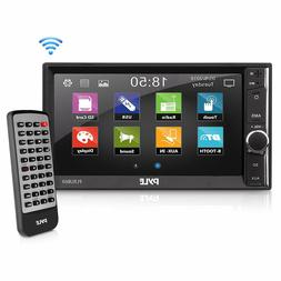 Pyle PLRUB69 In-Dash Double DIN Bluetooth 6.5-Inch Touch-Scr