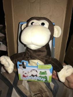 Plush Pals Manny/Monkey Talks, Sings & Dances for Mobile Pho