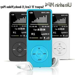 portable 70h playback sport mp3 mp4 player