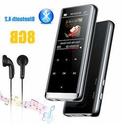 Portable 8GB Bluetooth HIFI MP3 Player FM Sound Recorder Tou