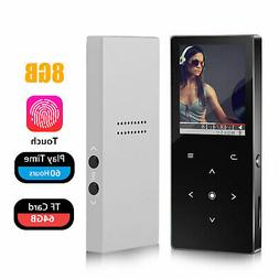 Portable 8GB MP3 Player Music Lossless Sound Video Support u
