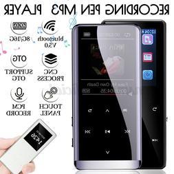 Portable bluetooth MP3 Music Player FM Hi-Fi Lossless Radio