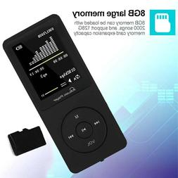 Portable MP3 Player Music Lossless Sound Video Support up to