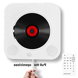 Rofeer Portable CD Player, Bluetooth Wall Mountable CD Music