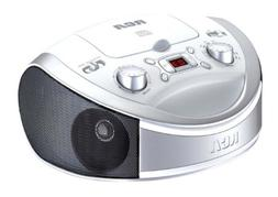 RCA Portable Cd Player & AM/FM Radio Tuner Mega Bass Reflex