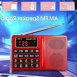 Portable  Digital AM/FM/SW Radio Receiver with MP3 Speaker P