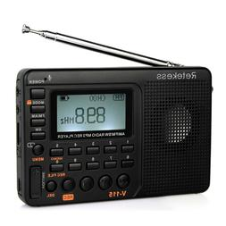 Portable FM/AM/SW Radio+mp3 player+MIC/Radio/Line in recordi