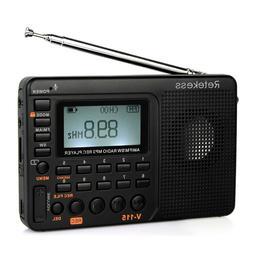 portable fm am sw radio mp3 player