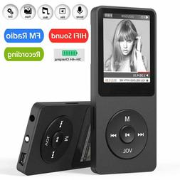 Portable LCD MP3 MP4 Lossless Sound Music Player FM Radio Su