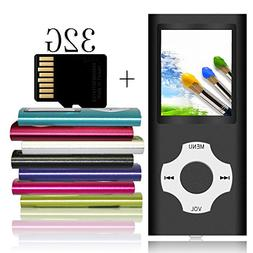 Tomameri Portable MP3 / MP4 Player with a 32 GB Micro SD Car