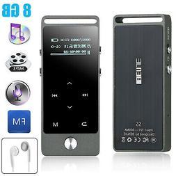 Portable MP3 MP4 Player Lossless Sound Music Video FM Radio