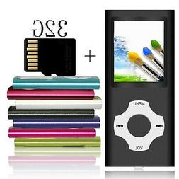 Tomameri -Portable MP3 Music Player with a 32 GB Micro SD Ca
