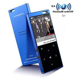 Portable MP3 Player with Bluetooth,8G Lossless Hi-Fi Sound M