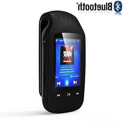 HONGYU Portable MP3 player with Bluetooth 8GB Clip sport mus