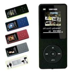 Portable Multifunction Music AVI MP3 Player 8GB 70 Hours Pla