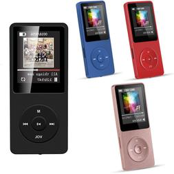 Portable Multifunction Music AVI MP3 Player 8GB 70 Hours Pla