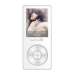 HONGYU Portable Music Player , 8GB Lossless MP3 Player 60 Ho