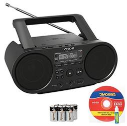 portable range stereo boombox sound