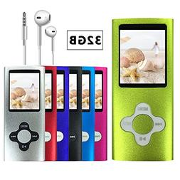 VOLGER DIGITAL 32 GB Portable Ultra-thin MP3 MP4 Player LCD